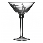 Varga Safari Martini Glass Giraffe