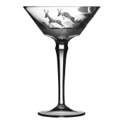 Varga Safari Martini Glass Gazelle