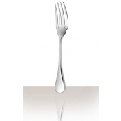 Perles Silverplate Fish Fork