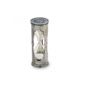 Match Pewter Round Hourglass - X-Small