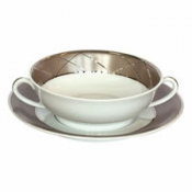 Cream Soup Cup w/ handles