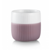 Fluted Contrast Espresso Mug - Heather