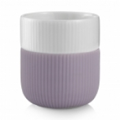 Fluted Contrast Mug - Heather