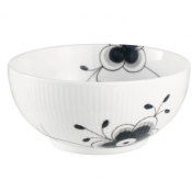 Black Fluted Mega Serving Bowl - 6""