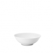 White Half Lace Cereal Bowl -6.25""
