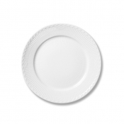 White Half Lace Dinner Plate - 10.75""