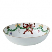Star Fluted Christmas Serving Bowl - 3.25 Qt