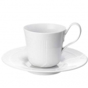 White Elements Cup & Saucer /Special Order