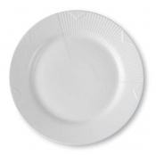 "White Elements Plate 9.75"" /Special Order"