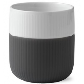Fluted Contrast Mug - Anthracite