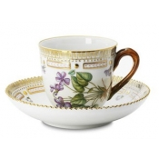 Flora Danica Coffee Cup and Saucer