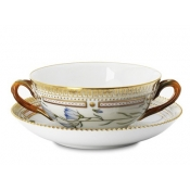Flora Danica Soup Cup and Saucer