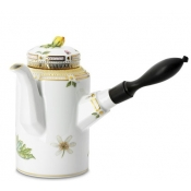 Flora Danica Coffee Pot w / Ebony Handle - 24 oz.