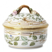 Flora Danica Large Covered Sugar Bowl - 20 oz.