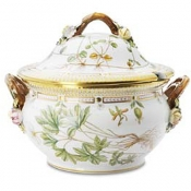 Flora Danica Covered Oval Soup Tureen - 3.75 QT