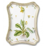 Flora Danica Rectangular Tray - 11.75""