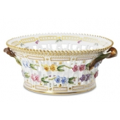 Flora Danica Large Round Fruit Basket