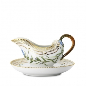 Flora Danica Sauce Boat Fixed Stand