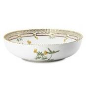 Flora Danica Round Salad Bowl - Medium