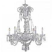 Waterford crystal chandelierscrystal chandeliers waterford ardmore chandelier 6 arm aloadofball Image collections