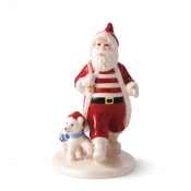 Royal Copenhagen 2020 Annual Christmas Santa Figurine