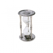 Match Pewter Round Hourglass - Large