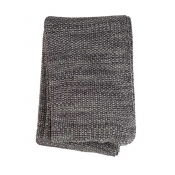 Sferra Orino Throw - Grey / Charcoal
