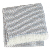Sferra Vitta Throw - Dusty Blue