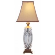 Waterford Finn Accent Lamp (Brass) - 19""