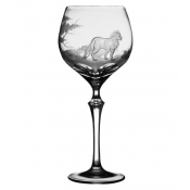 Varga Safari Water Glass Lion