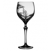 Varga Safari Wine Glass Giraffe