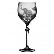 Varga Safari Wine Glass Elephant