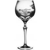 Varga Safari Wine Glass Cheetah