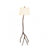 Michael Aram Enchanted Forest Floor Lamp - Oxidized