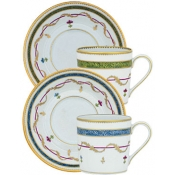 Espresso Cup & Saucer Set of 2
