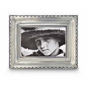 Math Pewter Trentino Rectangle Frame - Small - 2.25 x 3 3/8