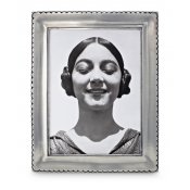 Math Pewter Trentino Rectangle Frame - Large - 5 x 7