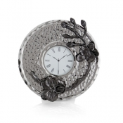 Michael Aram Black Orchid Mini Clock
