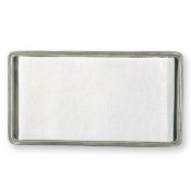 Match Pewter Guest Towel Tray