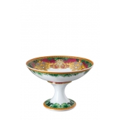 Versace Jungle Animalier Footed Bowl - 13.75""