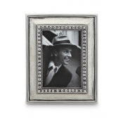 Math Pewter Veneto Rectangle Frame - Small - 2.2 x 4.4