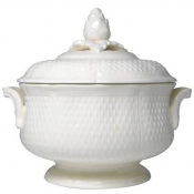 Pont Aux Choux White Covered Vegetable / Soup Tureen