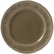Pont Aux Choux Taupe Dinner Plate*