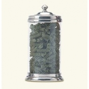 Match Pewter Glass Canister - Large