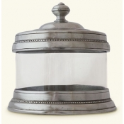Match Pewter Glass Canister- X Small