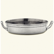 Match Pewter Toscana Round Pyrex Casserole Dish w/Out Lid