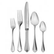 Christofle Spatours Silverplate 5 Piece Place Setting