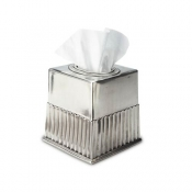 Match Pewter Impero Tissue Box