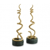Michael Aram Rainforest Candleholders - Set 2
