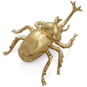 Michael Aram Rainforest Rhino Beetle Figure